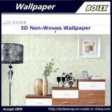 Papel pintado natural no tejido los 0.53*10m del papel pintado decorativo casero 3D