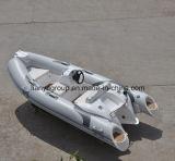 Liya 3.8mのガラス繊維の贅沢な肋骨の膨脹可能なボート