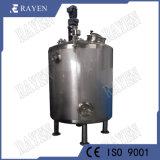 O SUS304 do tanque de mistura de líquidos em aço inoxidável com o agitador do tanque de água
