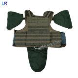 Plein butoir Kevlar/gilet tactique ballistique d'armure jupe à l'épreuve des balles de polyéthylène