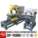 3 in 1 servo macchina dell'alimentatore della pressa di potere di Nc, Uncoiler e raddrizzatore (MAC2-800)