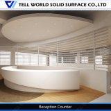 ACR caliente en forma de una superficie sólida Recepción de Hotel