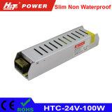 alimentazione elettrica di 24V 4A LED con le HTC-Serie della Banca dei Regolamenti Internazionali di RoHS del Ce
