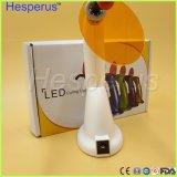 Arco iris dental LED de la fuente que cura el LED dental sin hilos ligero que cura la luz