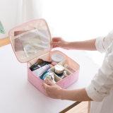 Portable y maquillaje cosmético femenino bolsa impermeable Multi-Travel Caja de almacenamiento