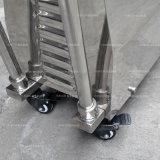漏斗および車輪のカートが付いている高速せん断のパイプラインポンプ