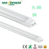 ベストセラー9W 0.6m T8 LEDの蛍光灯ライト