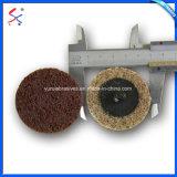 Cambio rápido de acabado superficial de la rueda de la trampilla de nylon