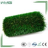 Relvado econômico plástico do gramado nenhuma parede artificial do verde de grama do enchimento