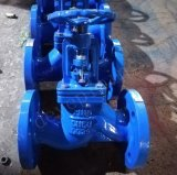 DIN 3352 F4 Pn10 Pn16 Dutile Válvula gaveta de Ferro Fundido com banco de EPDM