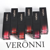 La marca al por mayor de terciopelo Veronni Longlastign pintalabios pintalabios resistente al agua de 6 colores