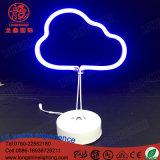 Luz teledirigida del vector de la muestra de neón de la chaqueta del color de Dimmable para la decoración del escritorio
