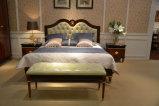 0068 진한 색 높은 광택 고아한 왕 디자인 침대