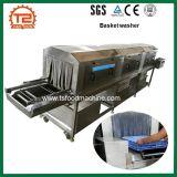 Lavadora de la cesta de la venta caliente y máquina plásticas de la limpieza del rectángulo