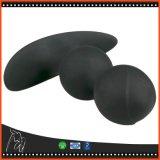 Producten van het Geslacht Massager van de Bal van het Silicone van de Stop van het uiteinde de Anale Dubbele Comfortabele Prostate voor de Anussen Massager van Vrouwen en van Mannen