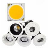 CREE LED Downlight dell'indicatore luminoso di soffitto dell'hotel del ritaglio LED di 75mm 10W