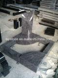 Le bleu en marbre/granit pour pierre tombale/Memorial/pierre tombale/mausolée/pierre tombale de sculpture sur pierre tombale/Monument/Sm0001 (SM03)