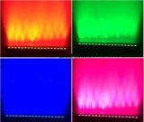Nuevo DMX 6en1 18X15W LED bañador de pared de la luz de la barra