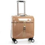 [بو1-173] بقرة طباعة أربعة عجلات ليّنة حامل متحرّك حقيبة سفر حقيبة