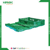 Caixas de dobramento exaladas plástico da fruta e verdura