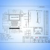 0.96дюймовый OLED 128x64 точек модуля дисплея для промышленного оборудования