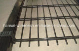 Galvanized Steel and Powder Coated Doubles Edged Wire Panel Fence