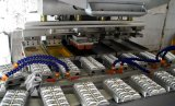 Cuatro colores de la Copa sellado elástico impresora con el transportador