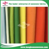 Pp couvrent les tissus non-tissés de tissu/de qualité 100% pp/le tissu non tissés Non-Woven de Spunbonded
