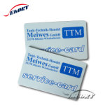 L'ISO CR80 Carte PVC vierge de la carte en plastique blanc