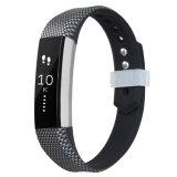 Fitbitアルタのシリコーンバンドのための卸し売り一義的な印刷されたシリコーンの時計用バンドストラップ