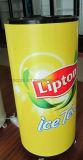 Le refroidisseur extérieur d'usager utilisé pour la boisson de thé de Lipton peut refroidisseur