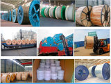 Overhead Transmission Line ACSR Conductor Aluminum Cables with Standard Test Carryforward