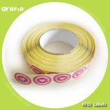 Lap13.56MHz RFID Aufkleber, Sicherheits-Aufkleber (GYRFID)