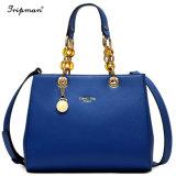 Il metallo delle borse delle donne di fabbricazione Parte-Tratta il sacchetto di Tote di cuoio del sacchetto