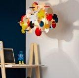 Moderno DIY lâmpada pingente de madeira para decoração de sala de estar