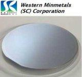 """2 Arsenide van Indium """" 3 """" (InAs) het Wafeltje van het Enige Kristal bij Westelijk MINMETALS"""