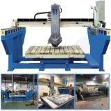 Ponte de granito em mármore com serra de corte de 45 graus para fabricação de placas&Ladrilhos&Counter tops
