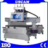 이탈리아 Hsd 스핀들을%s 가진 자동적인 목제 가구 생산 라인 Atc CNC 대패 기계