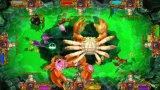 Funciona con monedas Monster despertar la mesa de juego de peces de la máquina Arcade Juegos de Azar