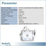 3 em 1 máquina de Dermabrasion do Hydra do injetor do oxigênio da casca do jato do oxigênio