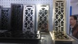 Registre de plancher en acier contemporain