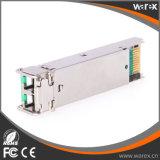 Transmisor-receptor compatible de las redes 1000BASE-EZX SFP 1550nm el 120km del enebro