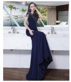 Мантий партии выпускного вечера военно-морского флота Mermaid платья вечера Z9002 красных Beaded кристаллический
