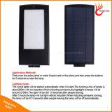 108 luz solar al aire libre del jardín del radar del LED 2100lm de movimiento de la luz solar del sensor