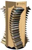 セラミックタイルの陳列だなの販売のための木の陶磁器のショーケースデザイン