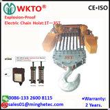 Fornitore della Cina di gru Chain elettrica protetta contro le esplosioni 35t di Wkto