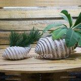 Mini crisol de flor moderno decorativo para la decoración artística al aire libre de interior de la personalidad