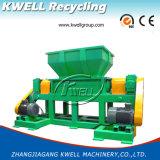 Défibreur de l'arbre Wt1400/machine de déchiquetage/rectifieuse jumelle/défibreur de réutilisation en plastique
