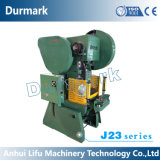 Máquina excêntrica da imprensa de potência mecânica, 100 séries da imprensa de perfurador J23 da tonelada J21