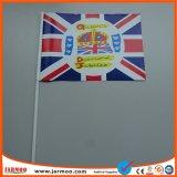 Национальный флаг ткани печатание цифров миниый